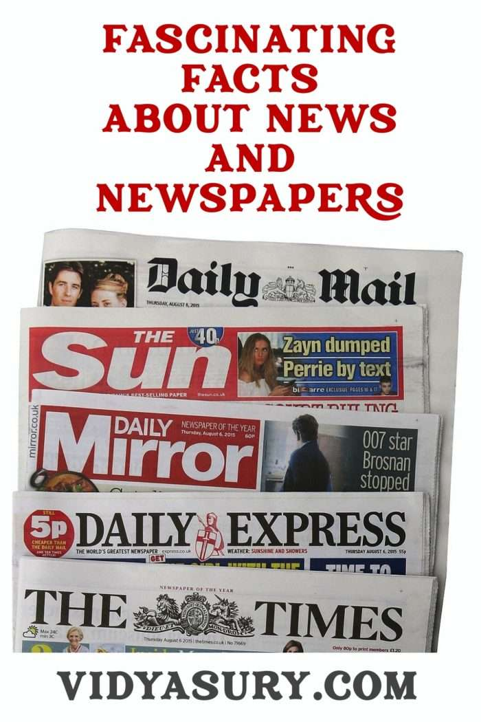 Fascinating facts about news and newspapers