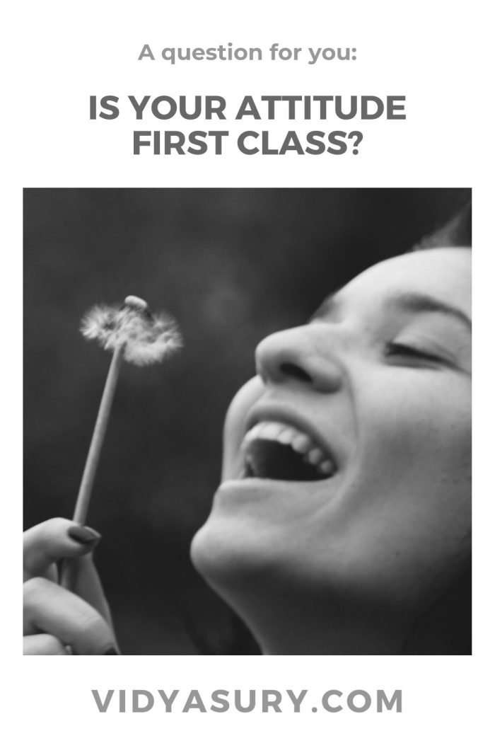 Is your attitude first class