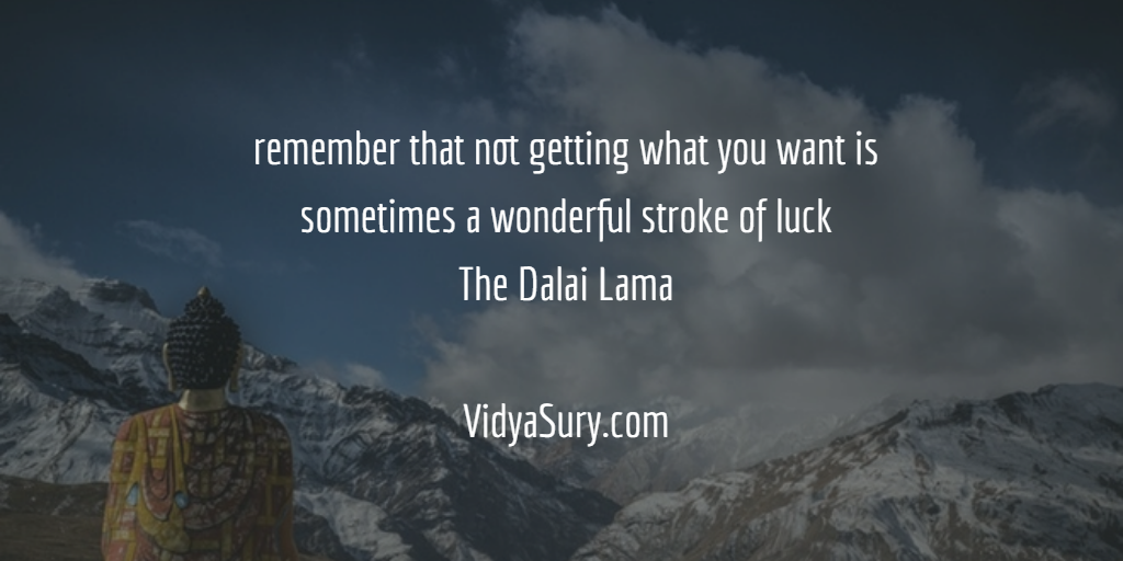 Rejection is a gift. Vidya Sury