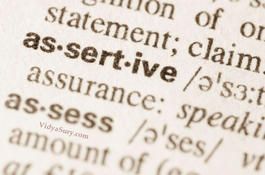Are you being assertive enough