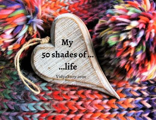 My fifty shades of life #reflections #gratitude