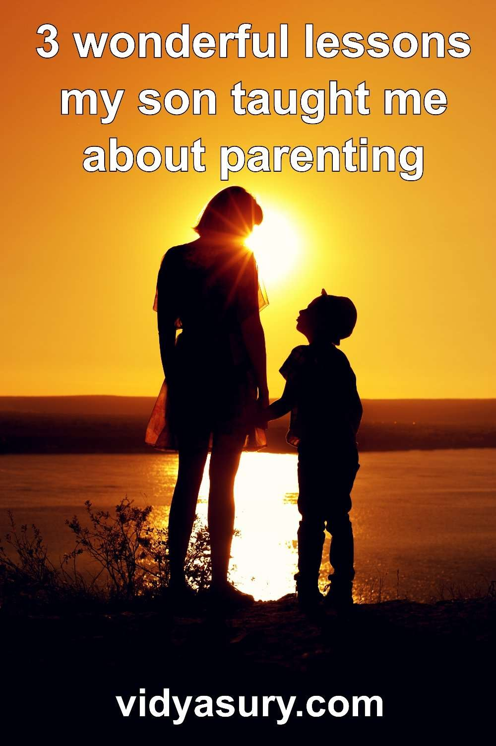What I learned from my son about parenting