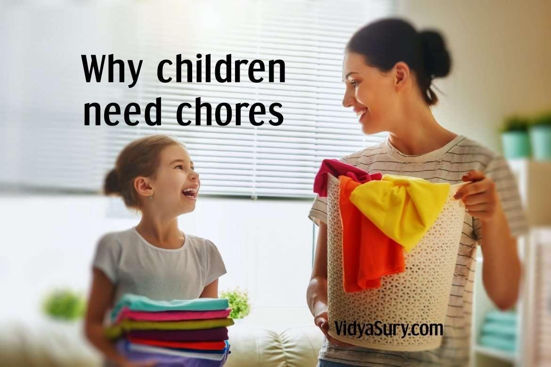 Why children need chores