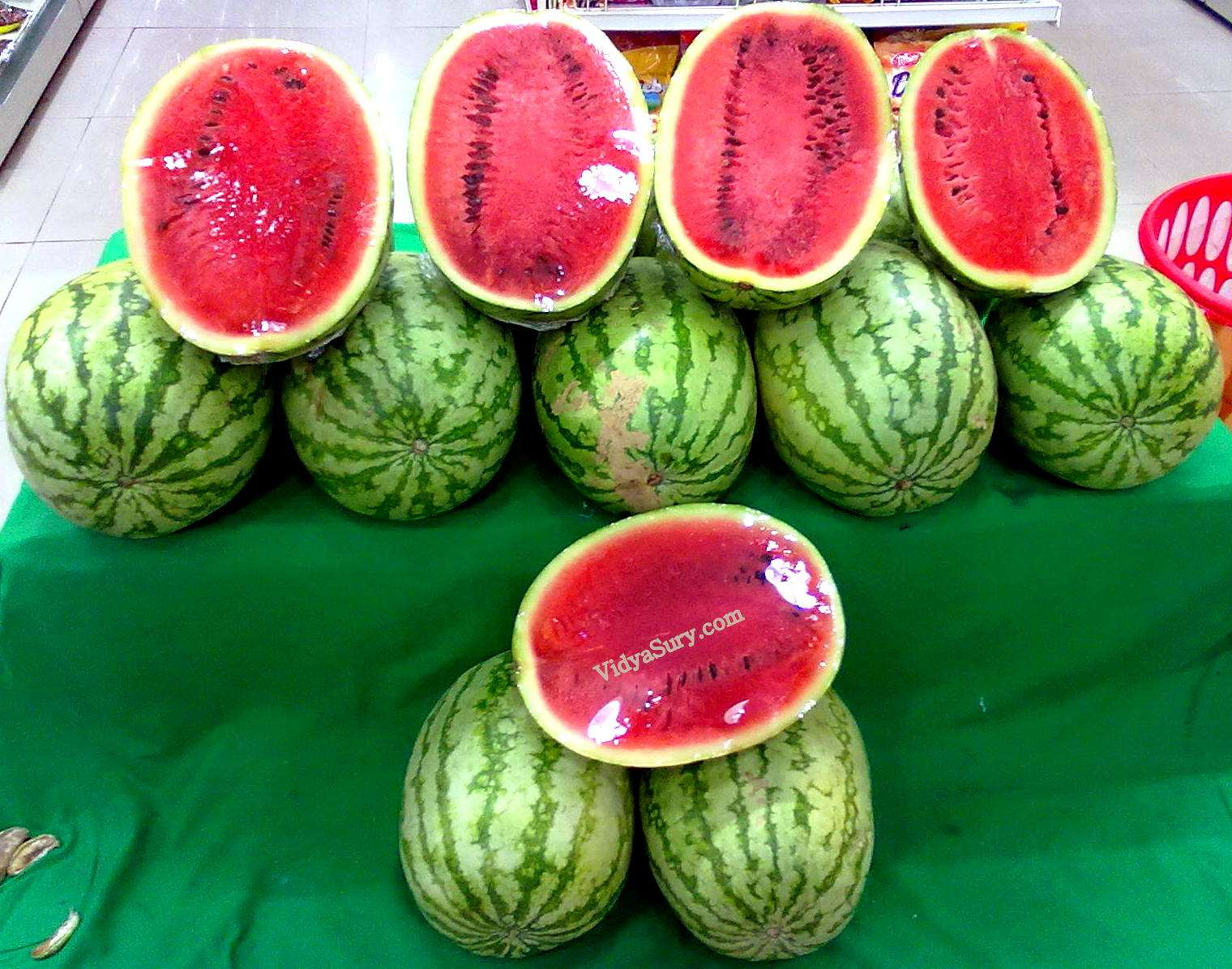 Happiness is everywhere watermelons