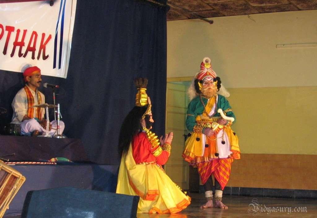 Yakshagana Performance Scene