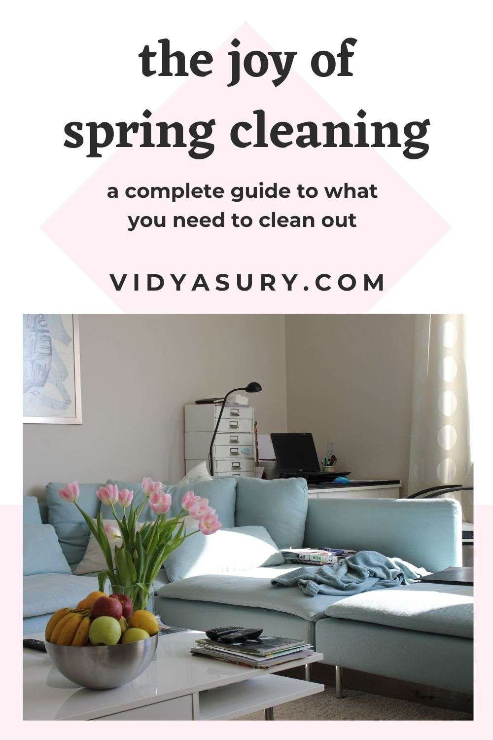 the joy of spring cleaning guide