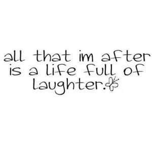 Laughter is the best medicine always