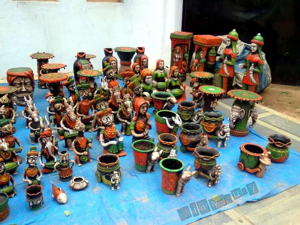 Present Moment Vidya Sury craft display