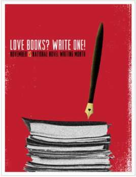 nanowrimo prep vidya sury love books