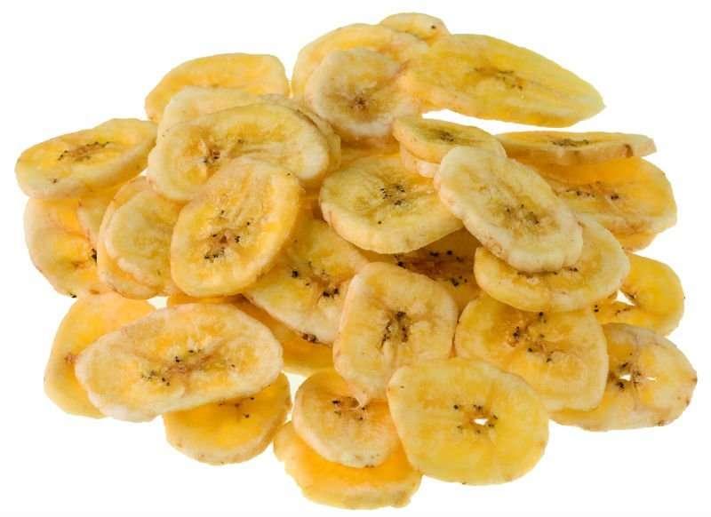 healthy eating  tips banana chips