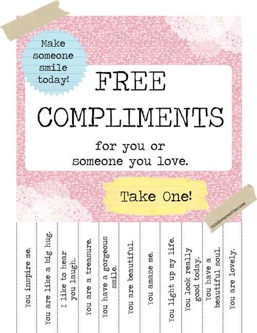 i trust you national compliment day