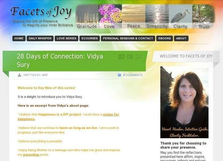 Vidya Sury Celebration of love