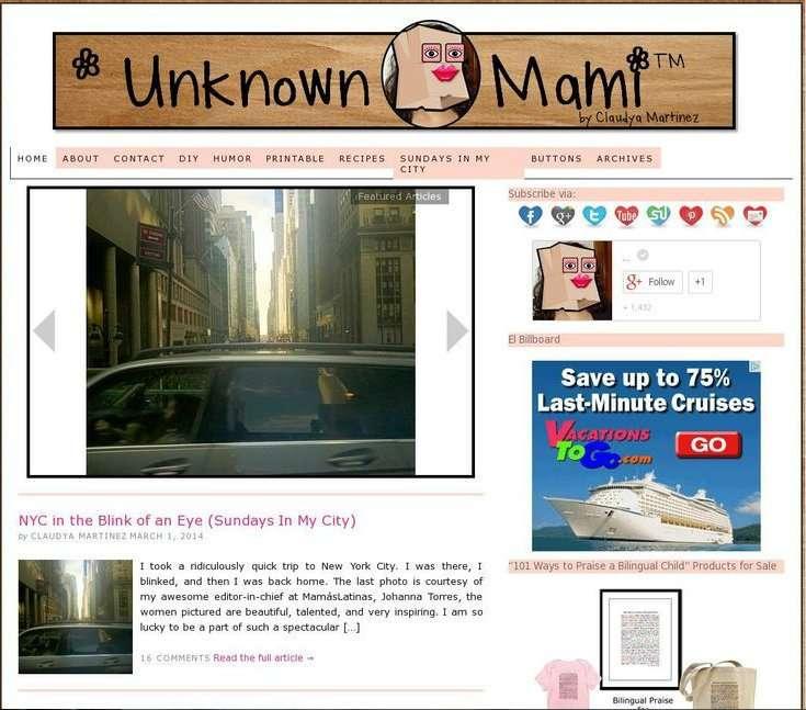 Unknown Mami Blog Love