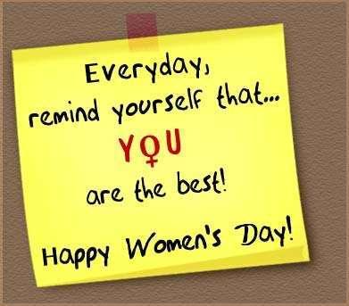 international womens day wish