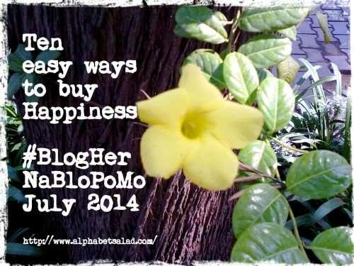 Ten easy ways to Buy Happiness