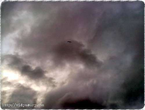 vidya sury clouds whattheblack