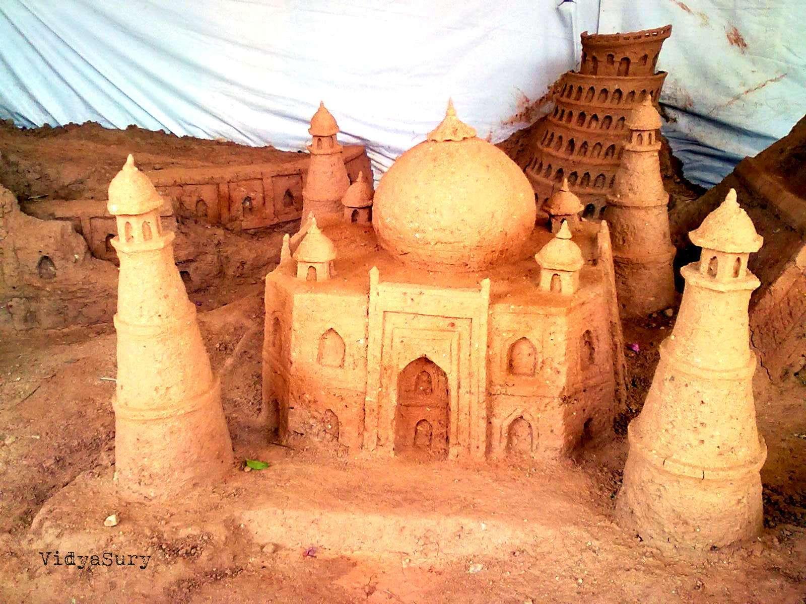 Sand Sculptures Vidya Sury