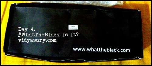 whattheblack vidya sury