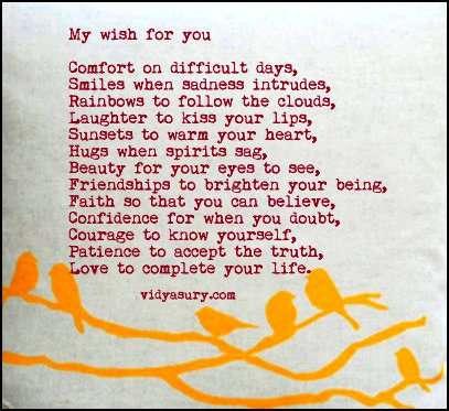 Friends Gratitude list Vidya Sury