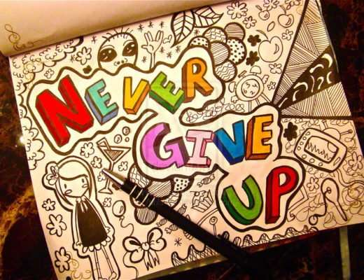never give up vidya sury