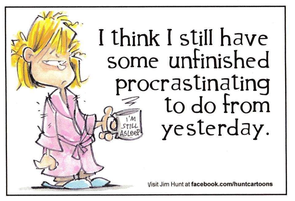 writing and procrastination vidya sury