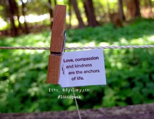 1000Speak Compassion Vidya Sury