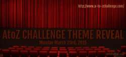 A to Z challenge theme reveal vidya sury