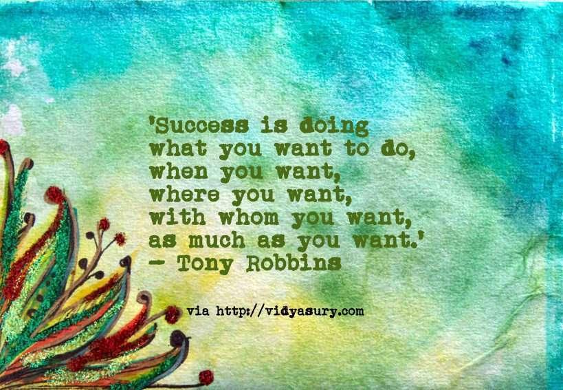 inspiring quotes for success vidya sury