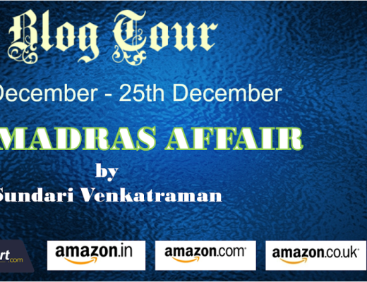 The Madras Affair Book Review Vidya Sury