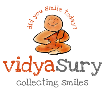Vidya Sury, Collecting Smiles
