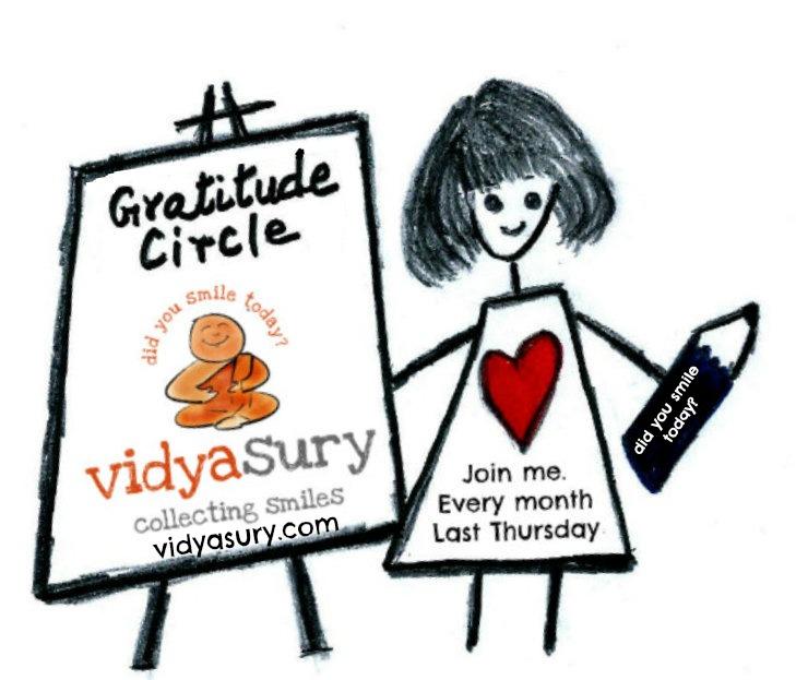 Vidya Sury, Gratitude Circle