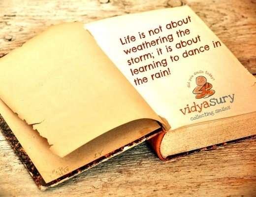 Learning to grow. Vidya Sury
