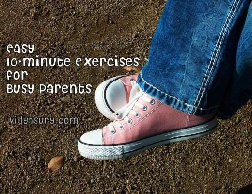 Easy 10-minute Exercises for Busy Parents