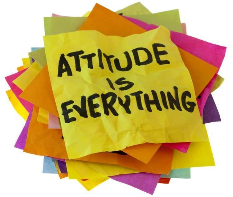Attitude is everything. Vidya Sury