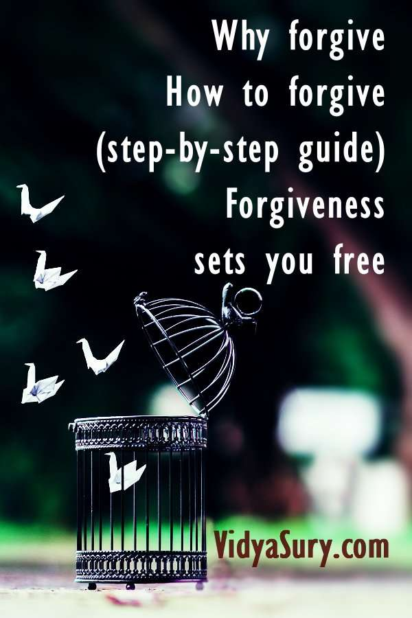 A step by step guide to forgiveness. Forgive and heal yourself. #personaldevelopment #mindfulness #selfhelp