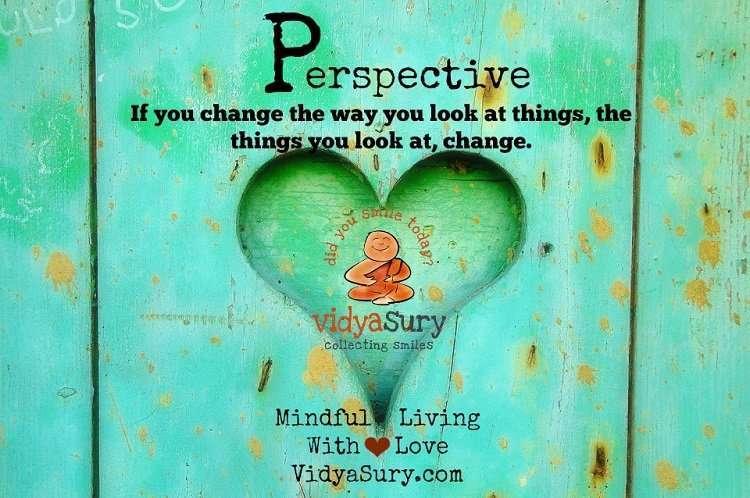 Perspective Vidya Sury