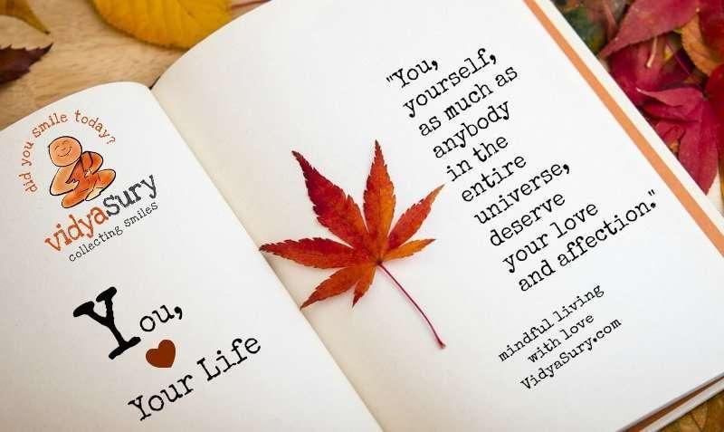 You Your Life Vidya Sury