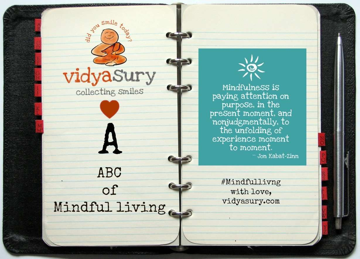 ABCs of Mindfulness Vidya Sury