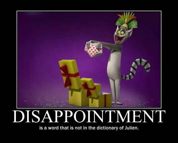 Disappointment is not a word Vidya Sury