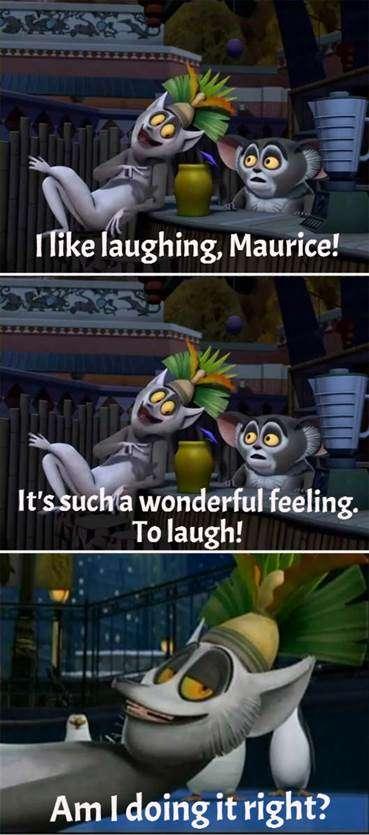 I like laughing Maurice Vidya Sury