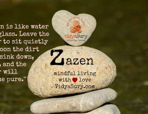 Zazen for Mindful Living VIdya Sury