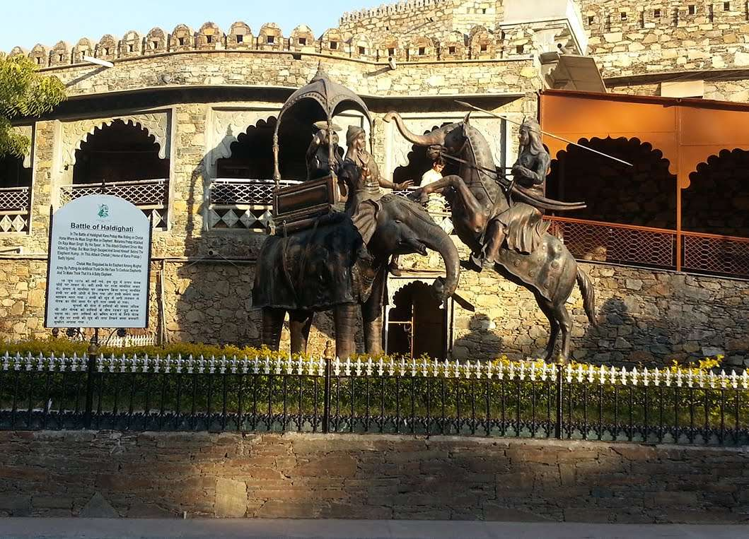Haldighati Museum Udaipur #HaldighatiRun Vidya Sury