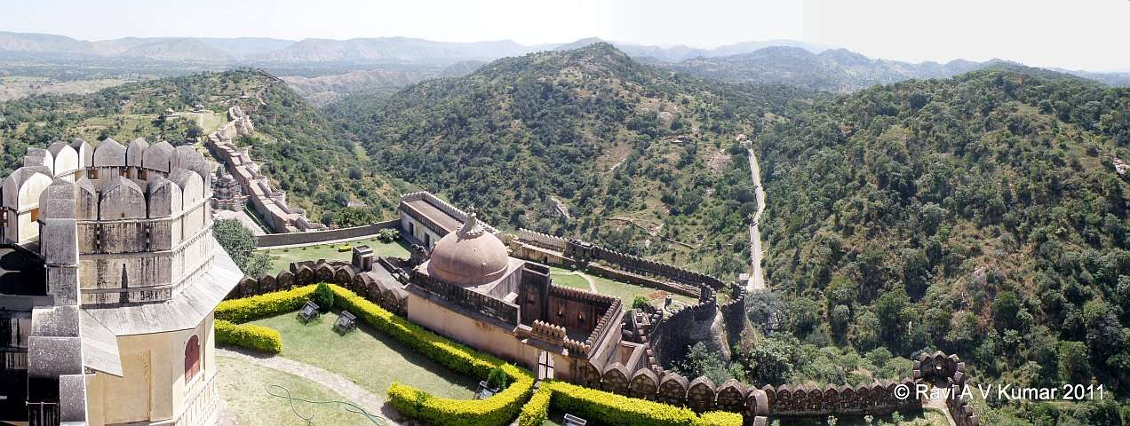Kumbalgarh Fort #HaldighatiRun Vidya Sury