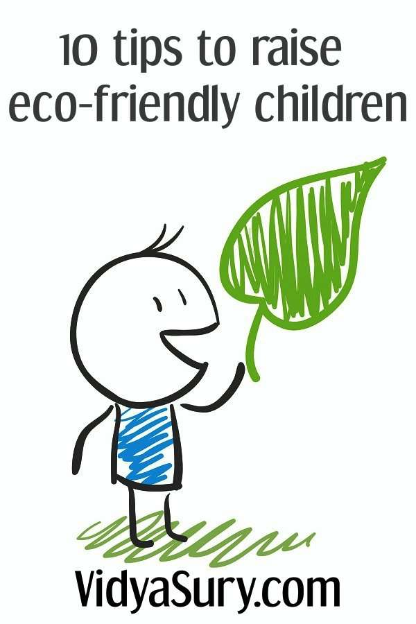 10 ways to raise eco-friendly children_Fotor