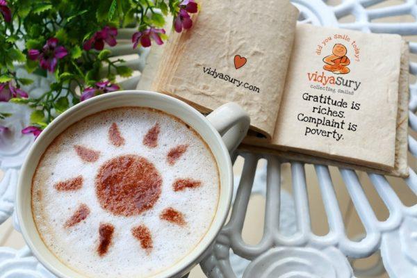 Vidya Sury Gratitude Circle October