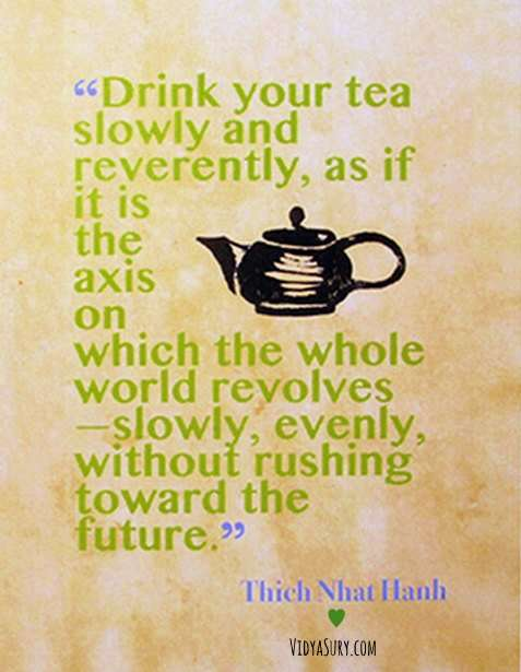 Inspiring quotes on Mindfulness from Thich Nhat Hanh
