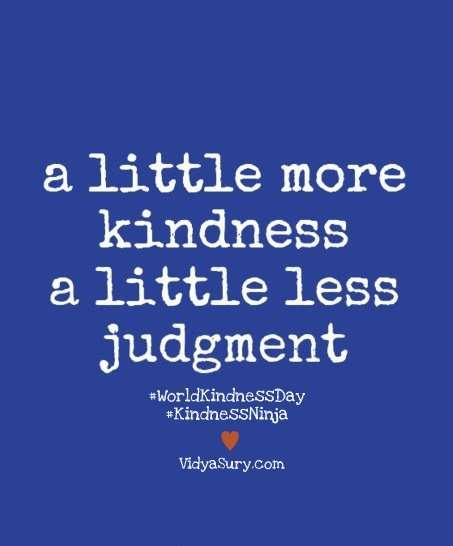 World Kindness Day Vidya Sury