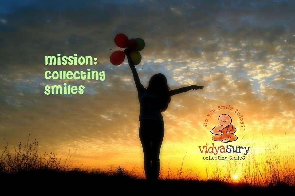 Mission Collecting Smiles AtoZChallenge 2017 Theme Reveal Vidya Sury
