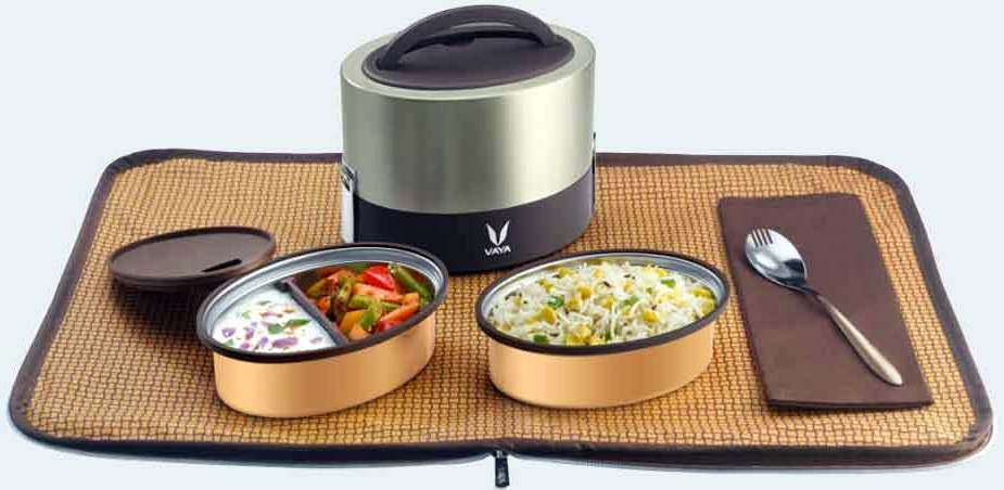 Vaya Tyffyn 600 ml premium #lunchbox #Review Vidya Sury
