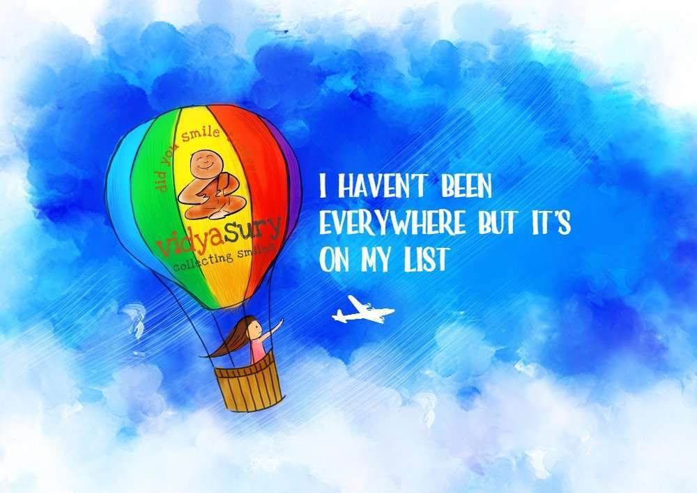 When Travel Brings Rewards Vidya Sury
